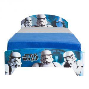 Room Studio Lit pour enfant en bois Stormtrooper Star Wars (90 x 190 cm)
