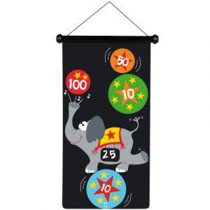 Scratch Jeu de fléchettes magnétique Cirque