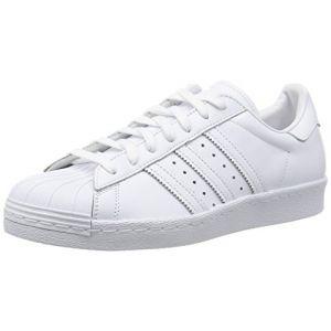 Adidas Superstar 80S, S79443, Basket Mode Homme, Blanc Cassé (FTWR White/FTWR White/Core Black), 42 EU