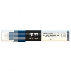 Liquitex Paint Marker - Pointe large - bleu phtalo nuance vert