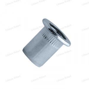 Scell-it EAD0425 - Écrou aveugle cranté à tête plate alu Ø mm:M4