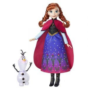 Hasbro Poupée La Reine des Neiges Magie des aurores boréales : Anna