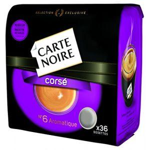 Carte Noire Corsé N°6 - 36 dosettes