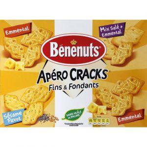 Benenuts Biscuits apéritifs Apero Cracks mix - Le paquet de 280g