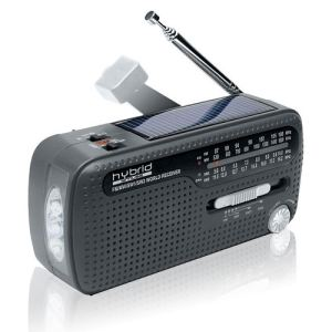 Muse MH-07 DS - Radio portable fonction lampe torche