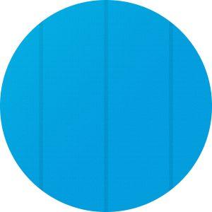 TecTake Bâche à bulles pour Piscine ronde de protection extérieure en Plastique 4,88 m Bleu
