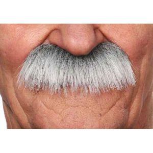 Moustache brossée