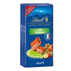 Lindt Chocolat au lait noisettes