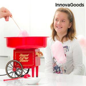 InnovaGoods 500W Rouge - Machine à Barbe à Papa