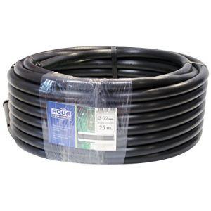 Aqua Control 63225 Pack de 3 tuyaux, noir, 2500 x 3.2 x 3.2 cm