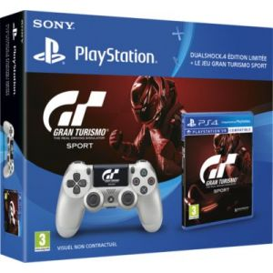 gran turismo sport dualshock 4 silver gt sport qui es tu sur ps4 comparer avec. Black Bedroom Furniture Sets. Home Design Ideas