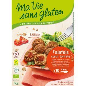 Ma vie sans gluten Falafels Coeur tomate 150gr