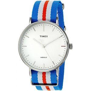 Timex TW2P91100 - Montre pour homme avec bracelet en tissu