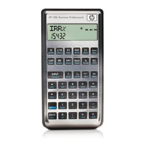 HP NW238AA - Calculatrice professionnelle financière 30b Business