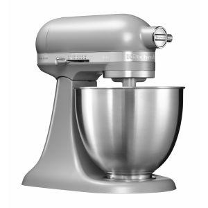 Kitchen Aid 5KSM3311 - Mini robot pâtissier multifonction à tête inclinable de 3,3 L