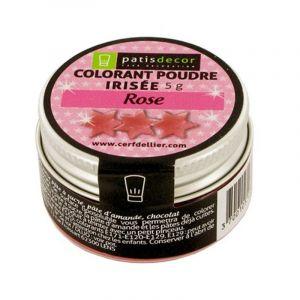 Patisdécor Colorant poudre - rose - 5 g