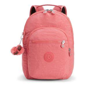 Kipling Sac à dos Clas Seoul S pour citadine ou enfant Dream Pink rose