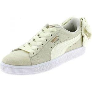 Puma Chaussures enfant SUEDE BOW BEIGE Beige - Taille 36,37,38,39,40,40 1/2,35 1/2,37 1/2,38 1/2