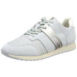 Geox D Deynna D, Sneakers Basses Femme, Gris (Azure), 40 EU