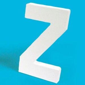 decopatch AC725C - Lettre Z 20,5cm, en carton pelliculé peint