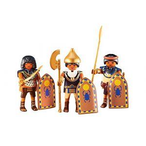 Playmobil 6488 - 3 soldats égyptiens