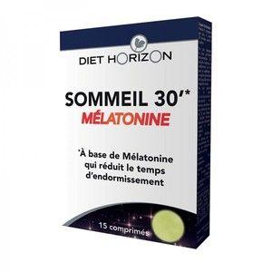 Diet Horizon Sommeil 30 - Mélatonine 15 comprimés