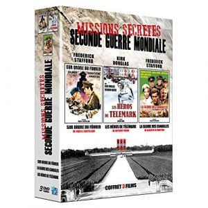 Missions secrètes Seconde Guerre Mondiale : Sur ordre du Führer + Les héros de Telemark + La gloire des canailles [DVD]