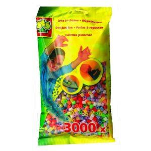 Ses Creative Sachet de 3000 perles à repasser - Mix