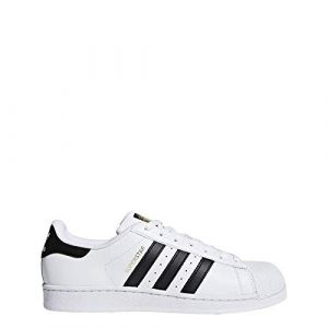 Adidas Superstar Basket Mode Homme, Blanc (Footwear White/Collegiate Navy/Collegiate Navy), 38 EU
