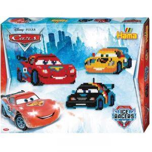 Hama Boite de 4000 perles à repasser : Disney Cars
