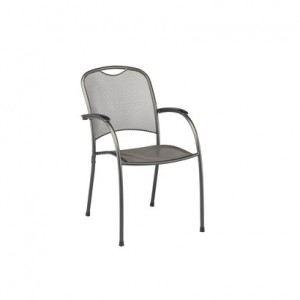 Kettler 0303202-7000 - Fauteuil de jardin empilable Calvia en acier