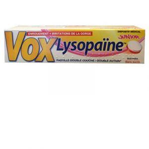 Boehringer Ingelheim Vox Lysopaïne Junior - 18 pastilles