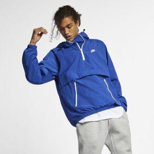 Nike Anorak tissé à capuche Sportswear pour Homme - Bleu - Taille L