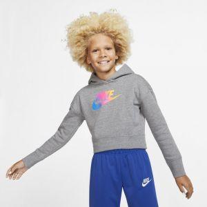 Nike Sweat Sportswear Gris - Taille 10 Ans