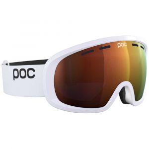 Poc Masques de ski Fovea Mid Clarity - Hydrogen White - Taille Spektris Orange/CAT2