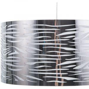 Beliani Lampe suspension argenté TORNO