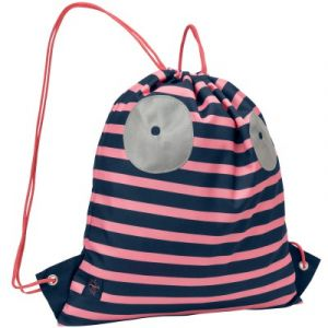 Image de Lässig Sac à ficelles marin Little Monsters Mad Mabel corail