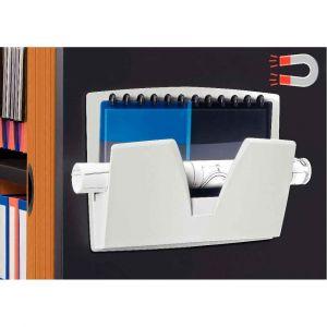 Image de CEP Office Solutions Corbeille murale magnetique gris clair