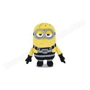 MTW Toys Peluche Minions parlante : Tom prison