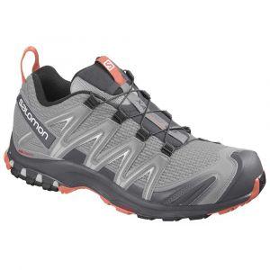 Salomon Femme Chaussures de trail running, XA PRO 3D W, Couleur: Gris (Alloy/Magnet/Camellia), Pointure: EU 37 1/3