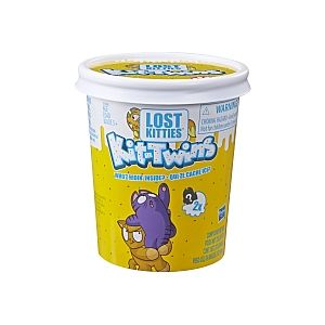 Hasbro Lost Kitties - Pack x2 Figurines Chaton Surprise (Modèle Aléatoire)