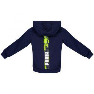 Puma Sweatshirts Hero Full Zip Tr Hooded - Peacoat - Taille 176