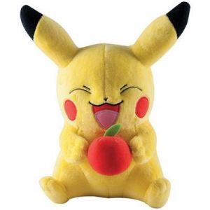 Tomy Peluche Pokemon Pikachu avec pomme