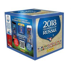 panini bo te de 50 pochettes stickers coupe du monde 2018 russie comparer avec. Black Bedroom Furniture Sets. Home Design Ideas