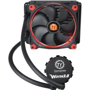 Thermaltake Water 3.0 Riing Red 140 - Kit de Watercooling pour processeur avec ventilateur PWM 140 mm