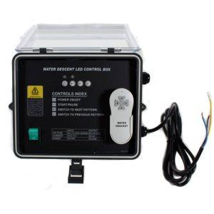 Piscine center o'clair Coffret gestion lame d eau avec telecommande