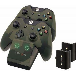 Venom Twin Docking Station Camouflage pour Manette Xbox One