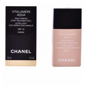 Chanel Vitalumière Aqua n°20 Beige - Teint parfait effet seconde peau SPF15