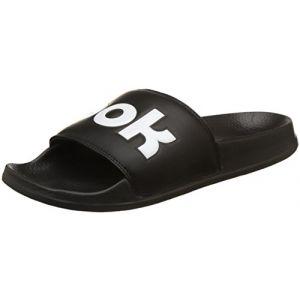 Reebok Classic Slide, Chaussures de Plage et Piscine Mixte Adulte, Noir (Splt/Black/White 000), 43 EU