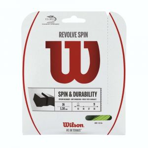 Wilson Ficelle Revolve Spin 12.2 M - Green - Taille 1.25 mm